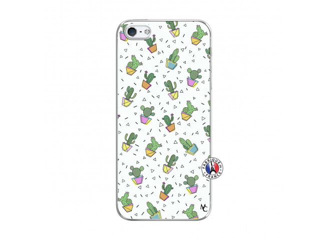 Coque iPhone 5/5S/SE Le Monde Entier est un Cactus Translu