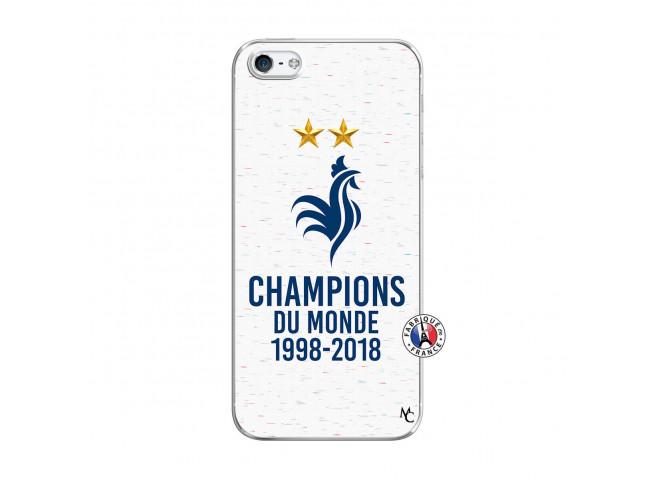 Coque iPhone 5/5S/SE Champion Du Monde Translu