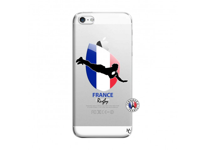 Coque iPhone 5/5S/SE Coupe du Monde de Rugby-France