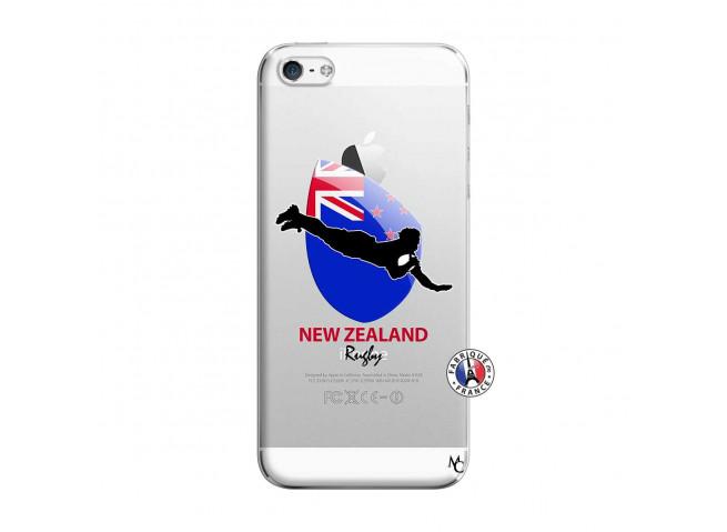 Coque iPhone 5/5S/SE Coupe du Monde Rugby- Nouvelle Zélande