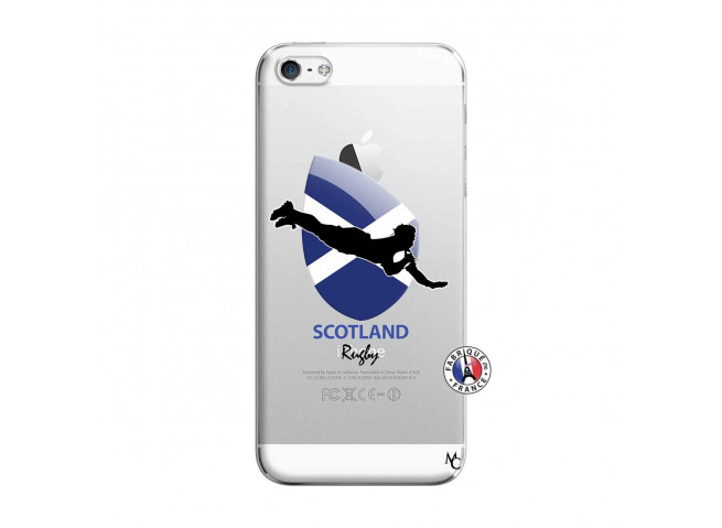 Coque iPhone 5/5S/SE Coupe du Monde Rugby-Scotland