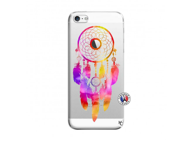 Coque iPhone 5/5S/SE Dreamcatcher Rainbow Feathers