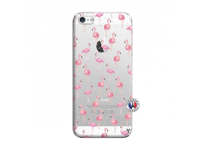 Coque iPhone 5/5S/SE Flamingo
