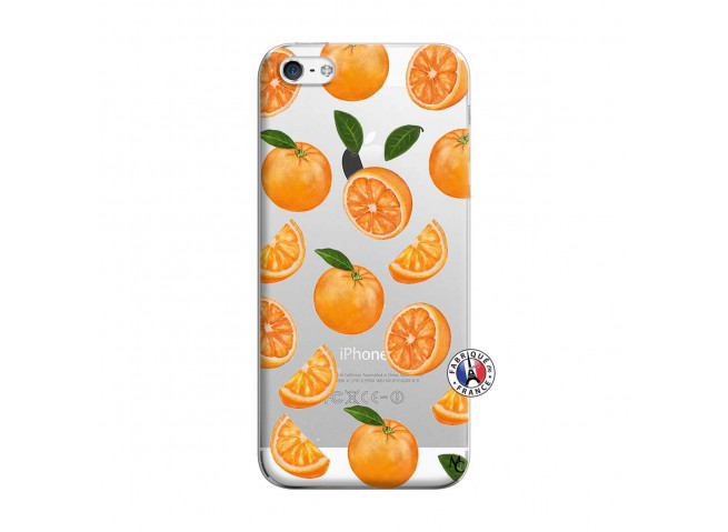 Coque iPhone 5/5S/SE Orange Gina
