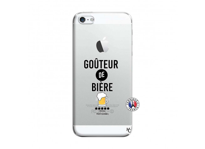 Coque iPhone 5/5S/SE Gouteur De Biere