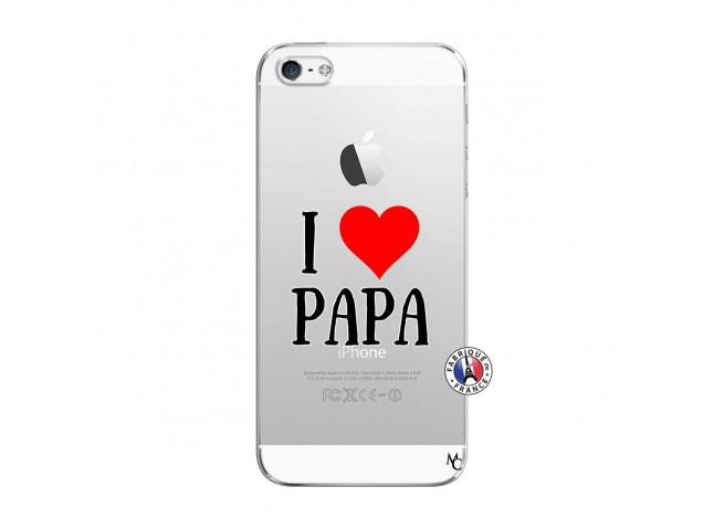 Coque iPhone 5/5S/SE I Love Papa