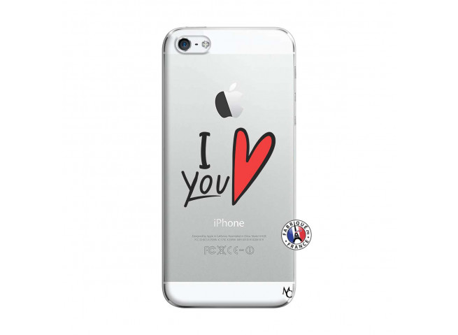 Coque iPhone 5/5S/SE I Love You