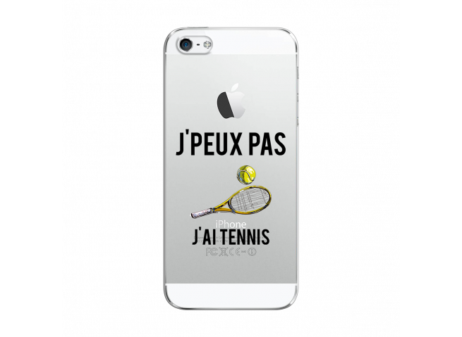 Coque iPhone 5/5S/SE J Ai Tennis