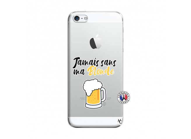 Coque iPhone 5/5S/SE Jamais Sans Ma Blonde