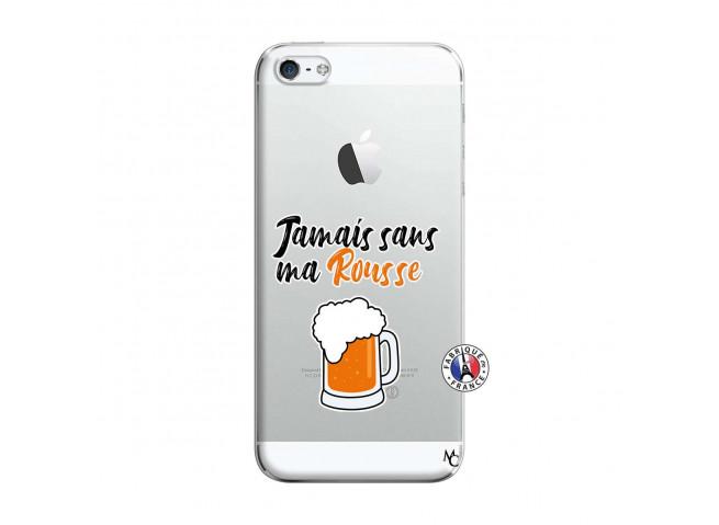 Coque iPhone 5/5S/SE Jamais Sans Ma Rousse