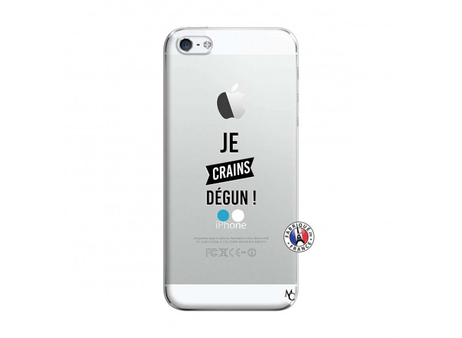 Coque iPhone 5/5S/SE Je Crains Degun