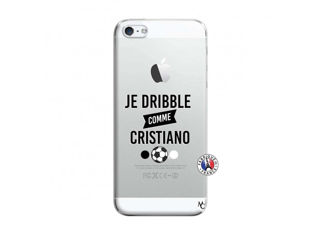 Coque iPhone 5/5S/SE Je Dribble Comme Cristiano