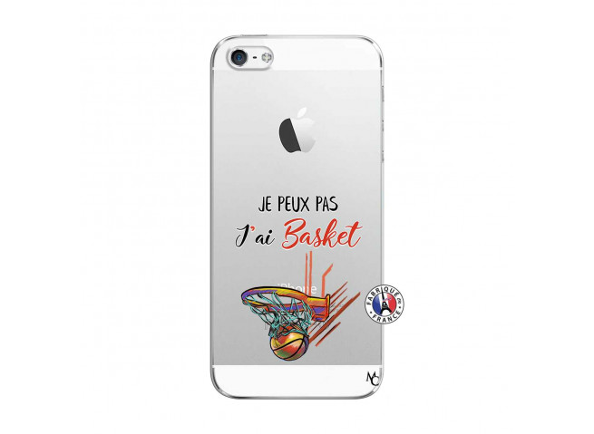 Coque iPhone 5/5S/SE Je Peux Pas J Ai Basket