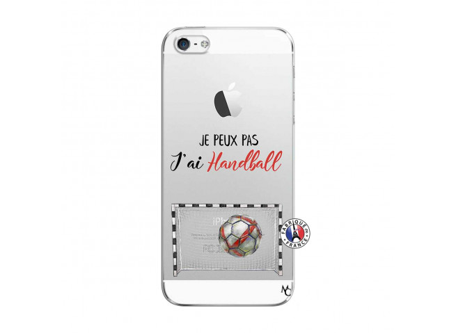Coque iPhone 5/5S/SE Je peux pas j'ai Handball