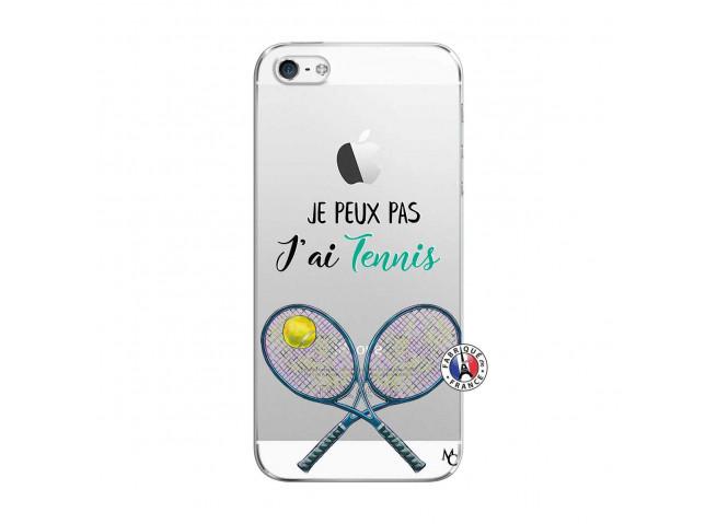 Coque iPhone 5/5S/SE Je Peux Pas J Ai Tennis