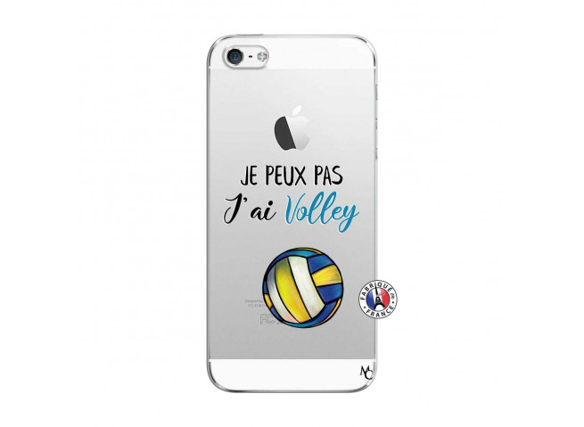 Coque iPhone 5/5S/SE Je Peux Pas J Ai Volley