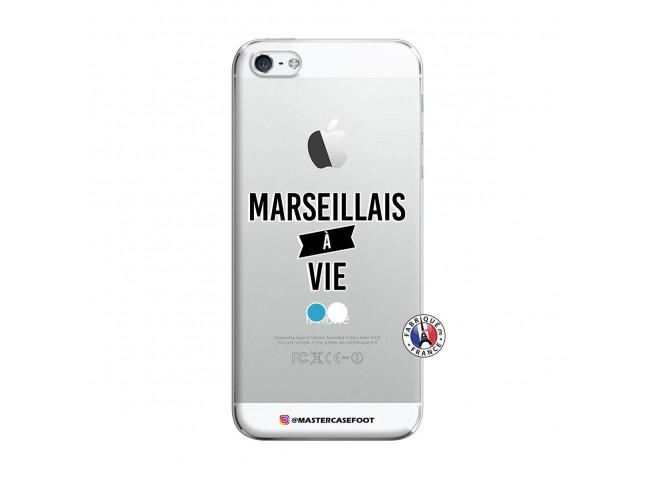Coque iPhone 5/5S/SE Marseillais à Vie