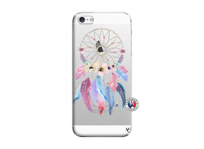 Coque iPhone 5/5S/SE Multicolor Watercolor Floral Dreamcatcher