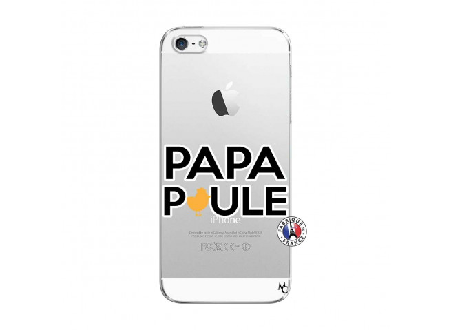 Coque iPhone 5/5S/SE Papa Poule