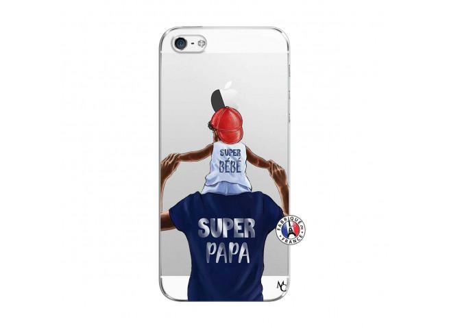 Coque iPhone 5/5S/SE Papa Super Heros