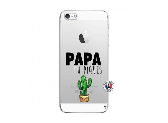 Coque iPhone 5/5S/SE Papa Tu Piques