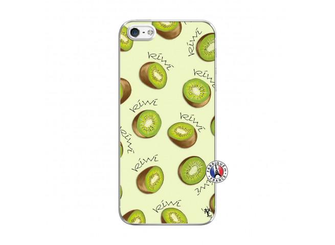 Coque iPhone 5/5S/SE Sorbet Kiwi Translu