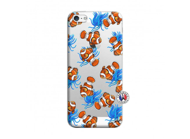 Coque iPhone 5/5S/SE Poisson Clown