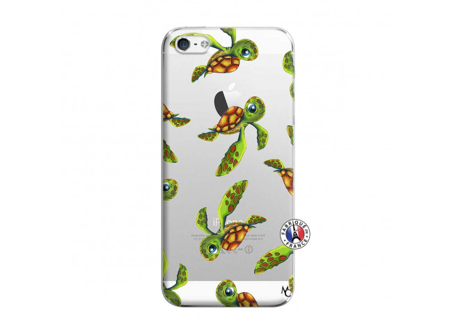 Coque iPhone 5/5S/SE Tortue Géniale