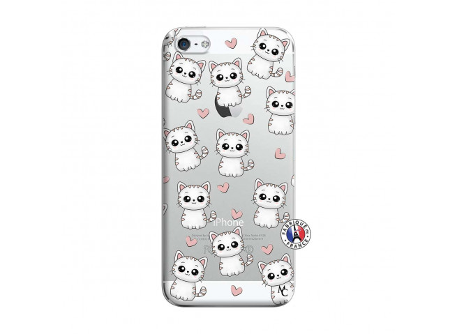 Coque iPhone 5/5S/SE Petits Chats
