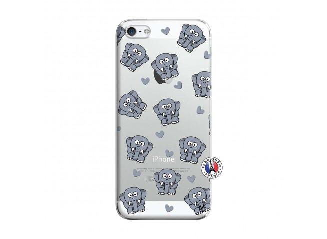 Coque iPhone 5/5S/SE Petits Elephants