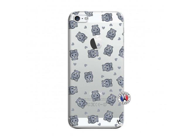 Coque iPhone 5/5S/SE Petits Hippos