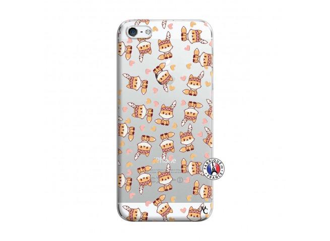 Coque iPhone 5/5S/SE Petits Renards