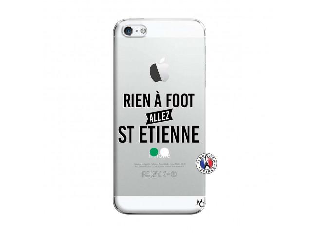 Coque iPhone 5/5S/SE Rien A Foot Allez St Etienne