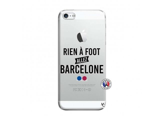 Coque iPhone 5/5S/SE Rien A Foot Allez Barcelone