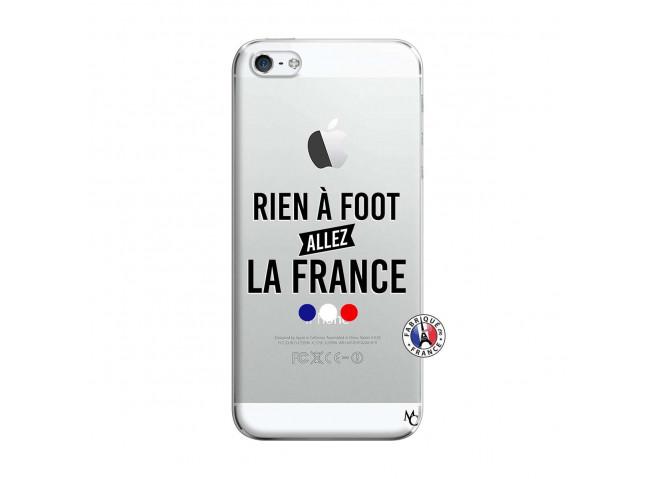 Coque iPhone 5/5S/SE Rien A Foot Allez La France