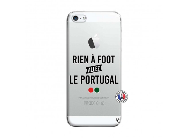 Coque iPhone 5/5S/SE Rien A Foot Allez Le Portugal