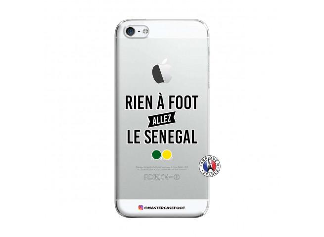 Coque iPhone 5/5S/SE Rien A Foot Allez Le Senegal