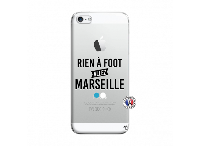 Coque iPhone 5/5S/SE Rien A Foot Allez Marseille