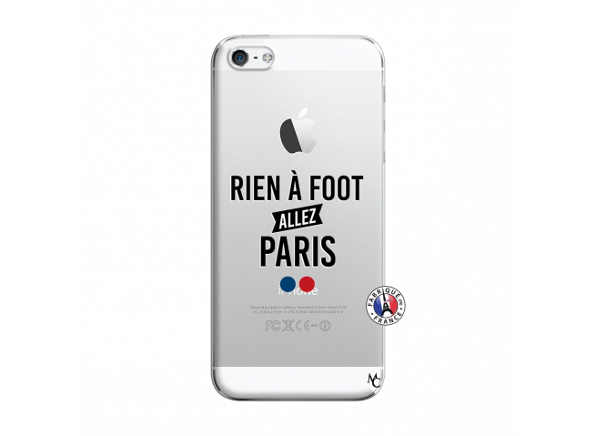 Coque iPhone 5/5S/SE Rien A Foot Allez Paris