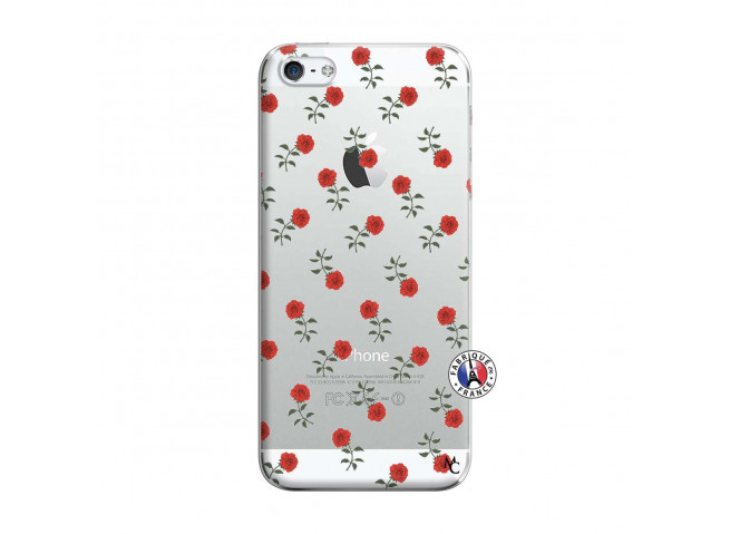 Coque iPhone 5/5S/SE Rose Pattern