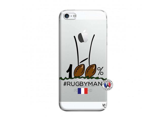 Coque iPhone 5/5S/SE 100 % Rugbyman Entre les Poteaux