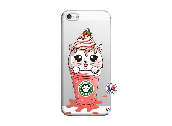 Coque iPhone 5/5S/SE Catpucino Ice Cream