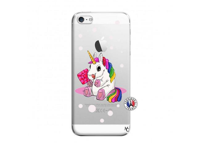 Coque iPhone 5/5S/SE Sweet Baby Licorne