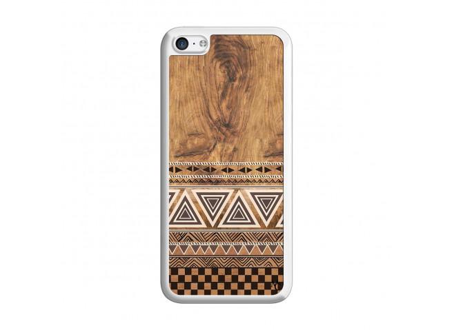 Coque iPhone 5C Aztec Deco Translu