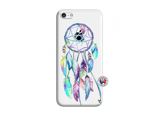 Coque iPhone 5C Blue Painted Dreamcatcher