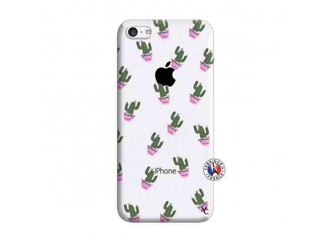 Coque iPhone 5C Cactus Pattern