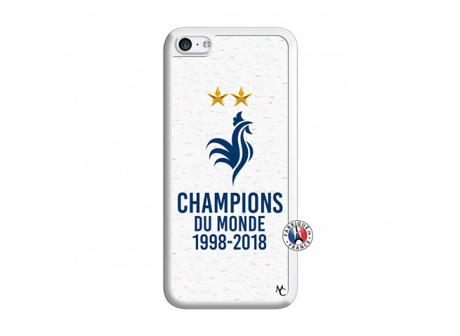 Coque iPhone 5C Champion Du Monde Translu