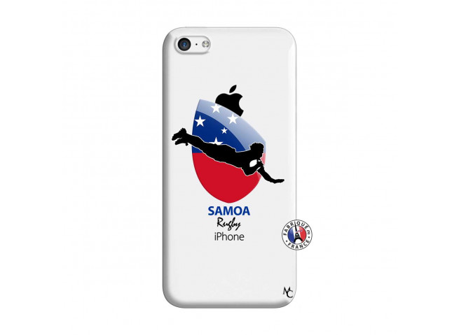 Coque iPhone 5C Coupe du Monde Rugby-Samoa
