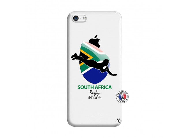 Coque iPhone 5C Coupe du Monde Rugby-South Africa