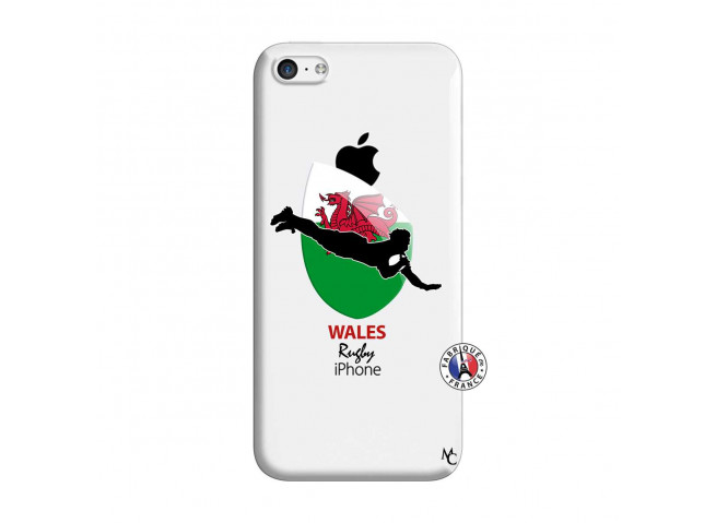 Coque iPhone 5C Coupe du Monde Rugby-Walles